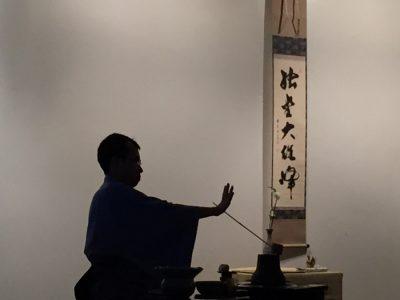 Cérémonie du thé avec maître Sôyu Mori