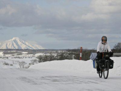 Hokkaido, défier l'hiver à vélo