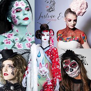 Maquillage Justine Eyraud