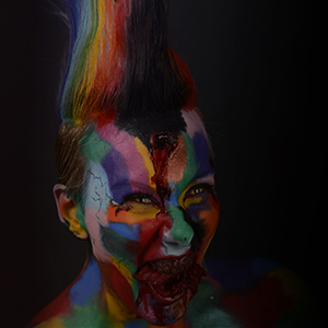Démonstration make up, coiffure et sfx