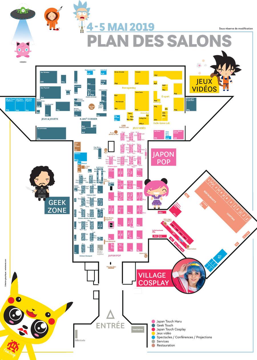 Plan du festival 2019